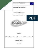 Maroc Etude Diagnostique Rapport Final