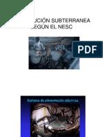 Distribucion Subterranea Segun El Nesc