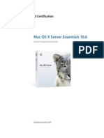 Server Essentials 10.6 Exam Prep