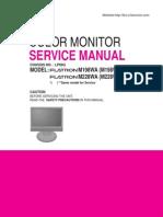 (manual de serviço) TV LCD LG M198WA, M228WA_chassis_lp69g_sm