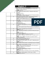 English 11 - Lessons 19-33