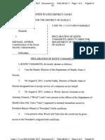 TAITZ v ASTRUE (USDC HI) - 9.1 - Declaration Declaration of Keith Yamamoto - Gov.uscourts.hid.98529.9.1