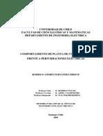 COMPORTAMIENTO DE PLANTA DE COGENERACIÓN