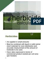 Herbicide Calculation