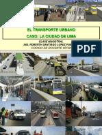 Clase Magistral Transporte Urbano