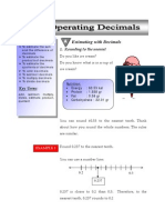 Operating Decimals