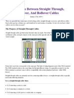 The Difference Between Straight Through, Crossover, And Rollover Cables _ Learn-Networking