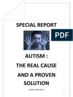 Autism - The Real Cause and a Proven Solution