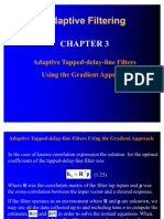Adaptive Filtering Chapter3