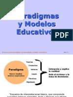 Paradigm As y Modelos Educativos.1