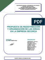 Propuesta Redistribucion y Organizacion Areas Empresa Secorca
