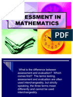 Assessment in Mathematics