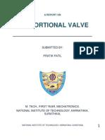 Proportinal Valve By Pratik Patil