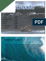 Tsunami Power Point (SuDrEAm)