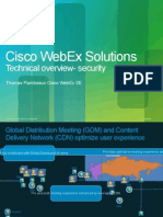 Cisco WebEx Security