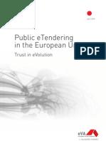 Public etendering in the European Union. Trust in eVolution.
