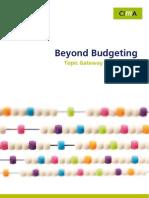 Cid Tg Beyond Budgeting Oct07