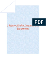 5 Major Diseases and Treatments