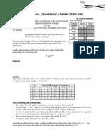 IB Lab - 07 Loaded Metre Rule (DCP)