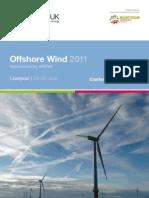 RenewableUK Offshore 2011 Prog W