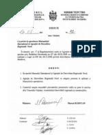 Manualul Operațional al ADR Nord