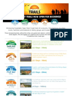 Cape West Coast Trails Promo Short Version