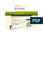 Current Affairs eBook 2011