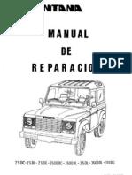 Manual de reparación Santana 2500y 2.5