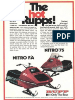 1975 Rupp Nitro Fa & Fc Brochure