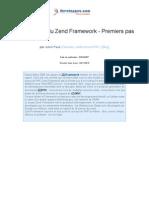 Zend Framework Presentation