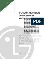 LG Plasma Monitor