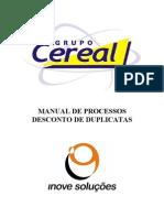 Manual Contabilizaçao Desconto de Duplicatas