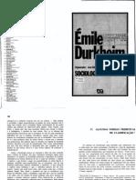 Algumas formas primitivas de classificação - Durkheim