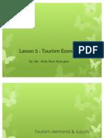 L5 Tourism Economics