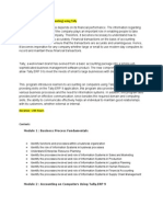 One Pager- Diploma in Tally