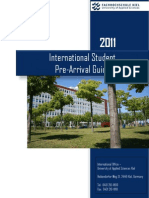International Student Pre-Arrival Guide
