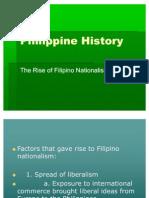Philippine History- Nationalism