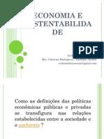 apresentação economia e sustentabilidade