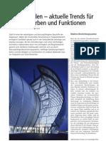 """Stahlfassaden - aktuelle Trends für Formen, Farben und Funktionen (Beitrag in """"Fassade"""")"""