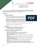 Teacher Job Description - Highly Qualified Rev 8-17-2011