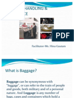 Baggage Handling & Allowance
