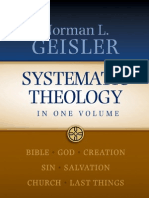 Norman Geisler, Systematic Theology
