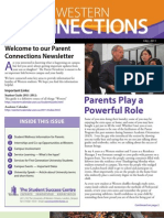 Western Connections Parent Newsletter, Fall 2011