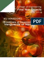 FYP Journal 2011