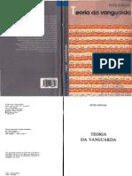 Bürger_Peter_Teoria_da_Vanguarda_Lisboa_Vega_1993