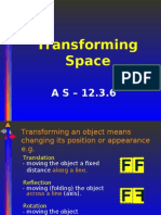 Transforming Space as 12.3.6