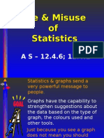 Use & Misuse of Statistics as 12.4.6 12.4.1