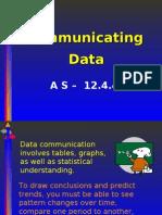 Communicating Data as 12.4.4