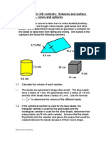 12 LO3 Problems in 3 D Contexts