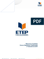 Manual Do Candidato - Sup Tradicionais